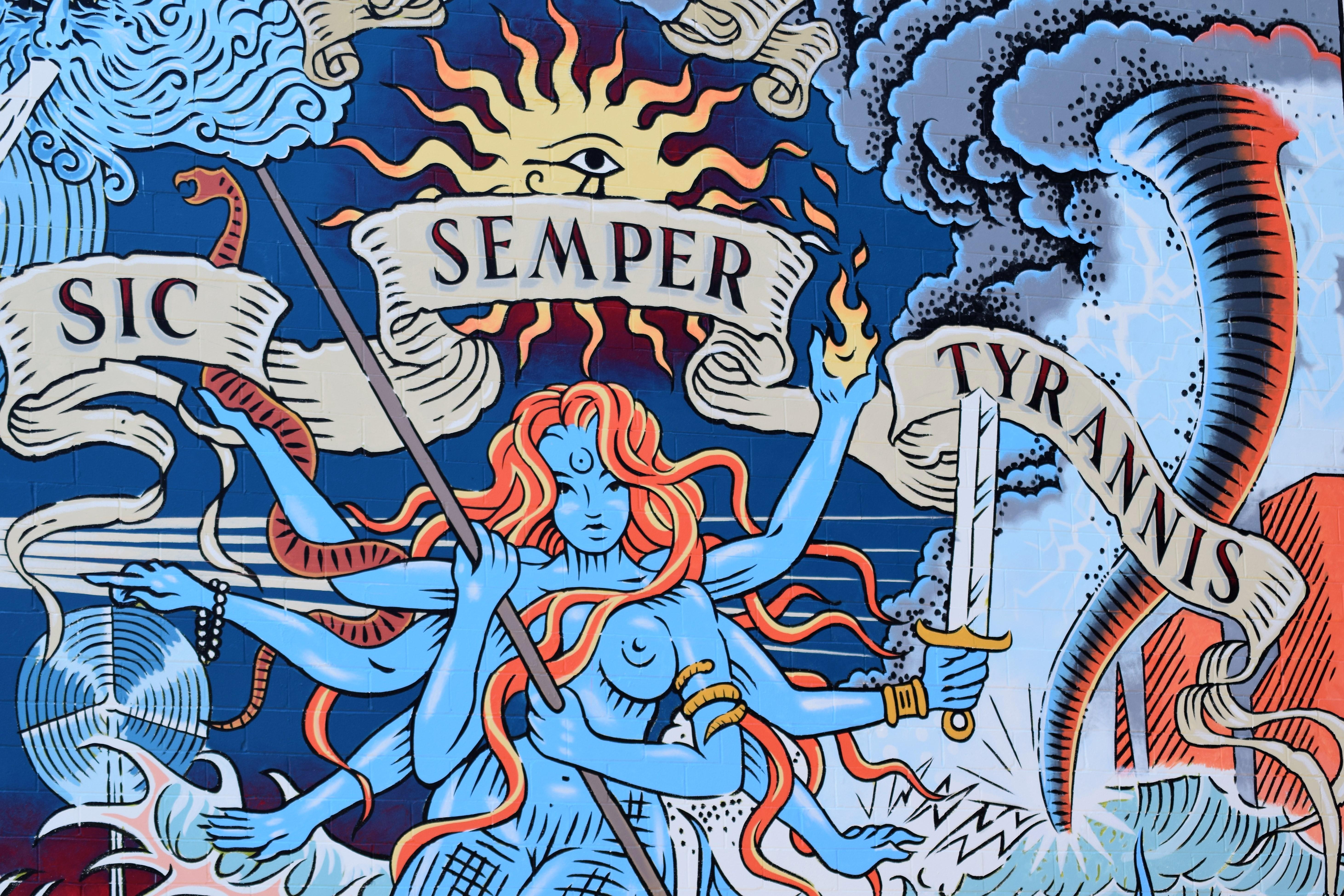 Virginia is for [Mural] Lovers - 1701 - Virginia Beach Coworking in